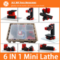 6 in 1 Mini Lathe ,Milling ,Drilling ,Wood Turning ,Jag Saw and Sanding Machine,Mini Combined Machine Tool, DIY Tool