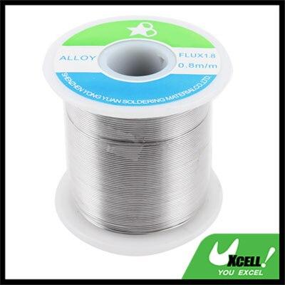 0.8mm 750g 63/37 Tin Lead Roll Solder Soldering Wire Welding Reel Spool Rosin Core Flux 1.8%  цены