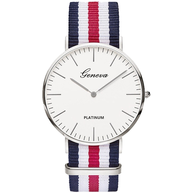 Geneva Nylon Fabric Spotswatch 5