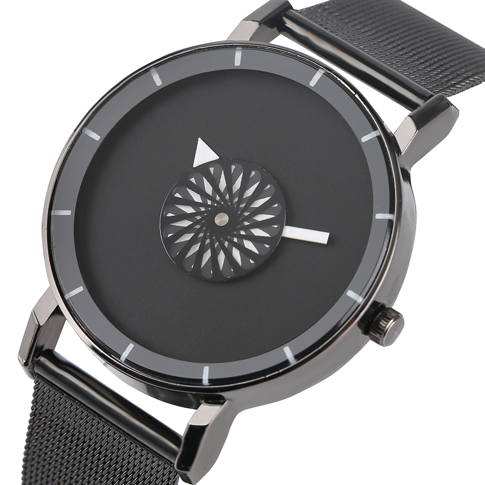 YISUYA Minimalist Metal Stainless Steel Wrist Watch Quartz Analog for Men Women Fashion fashion stainless steel rhinestones quartz analog wrist watch for women golden 1 x 377