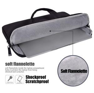 Image 5 - Laptop Bag Sleeve 13 13.3 14 14.1 15 15.4 15.6 Inch Notebook Bag For Macbook Air Pro 13 15 Dell Asus HP Acer Briefcase Handbag