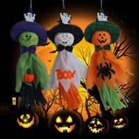 Cute Ghost Halloween Festival Party Hanging Decoration Kids Joking Doll