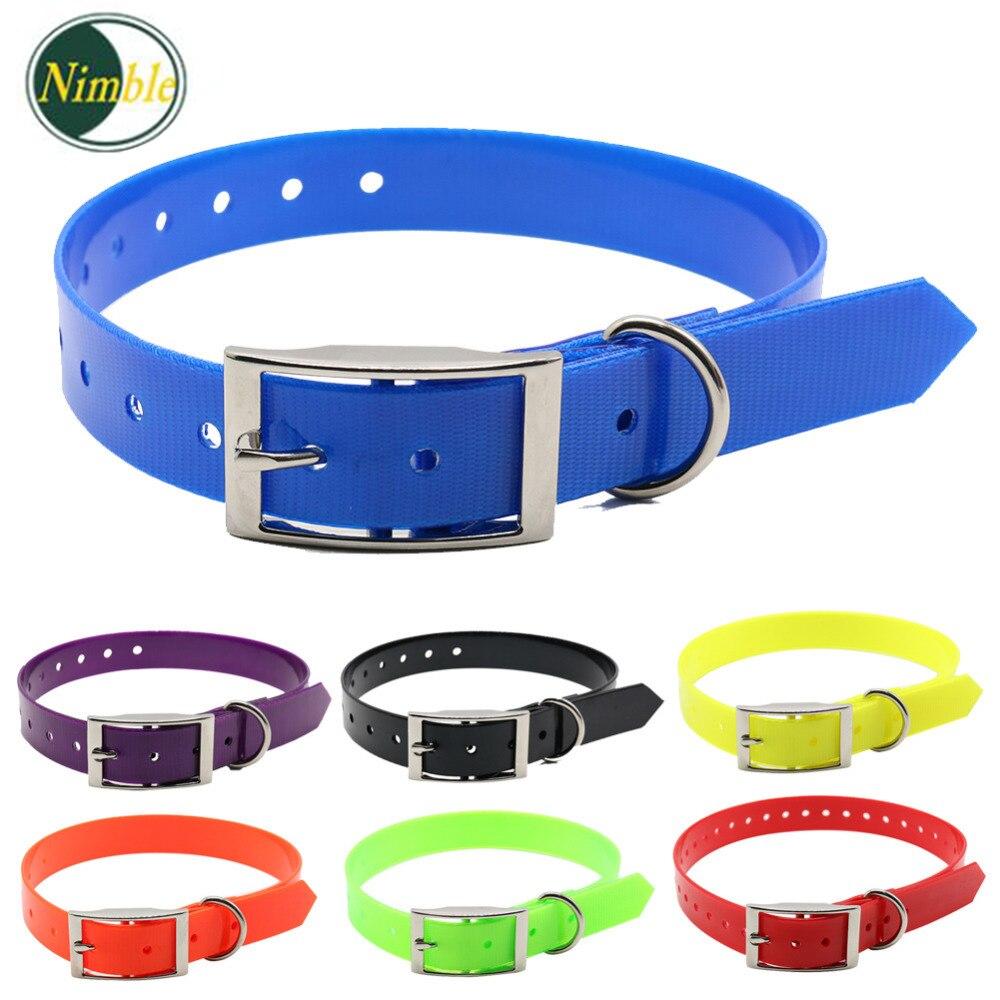 NIMBLE verstelbare halsbanden tpu + nylon kraag voor kleine grote - Producten voor huisdieren