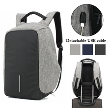 Unisex USB Charge Anti Theft Backpack Men Travel bag For Macbook Air Pro Retina 13.3 15.4 Laptop Shockproof School Bags Rucksack
