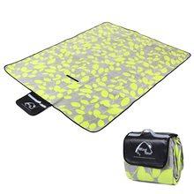 Outdoor Picnic Mat Waterproof Blanket Beach Lawn Mat Moistureproof Picnic Blanket for Picnic Baby Crawling Sleeping Yoga Pad