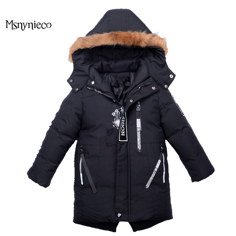 Winter Boys Jackets 2017 Fashion Casual Warm Coats For Kids Outerwear Children Clothing Hooded Jacket Baby Boy Clothes 2017 fashion teenager motorcycle coats boys leather jackets patchwork children outerwear letter printed boy faux leather jacket