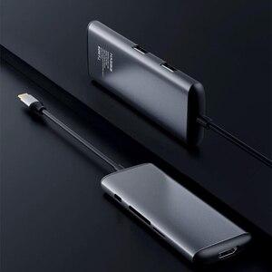 Image 4 - オリジナルhagibis 6で1タイプc hdmi usb 3.0 tf sdカードリーダーpd充電アダプタハブiphoneの携帯電話