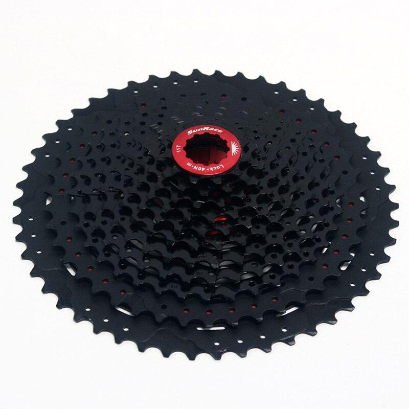 Alliage d'aluminium 11 vitesses 11-50 T vtt vélo cassette vélo roue libre