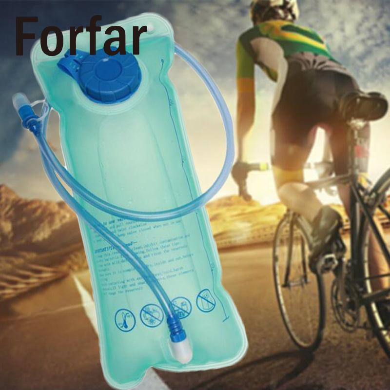2L Bike Cycling Camping Hiking Outdoor Sport Soft Flexible Folding Water Bladder Hydration Backpack Bag Container Tank Camelback