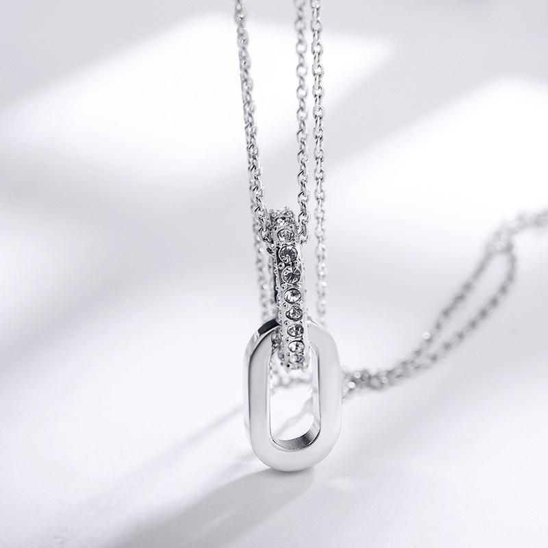 2018 New Sale Personality Guard Crystal Necklace Wholesale Crystal from Austrian Fashion Jewelry Fit Woman and female at Party