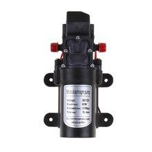 DC 12V 60W Micro Diaphragm Water Pump High Pressure Micro Water Pump Automatic Switch 5L/Min Approx 6.49 X 3.74 X 1.96Inch