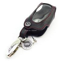 Nieuwe collectie Addan Lederen Autosleutelzakje Cover voor TOYOTA Alphard Reiz zwart remote autosleutel case car accessoires