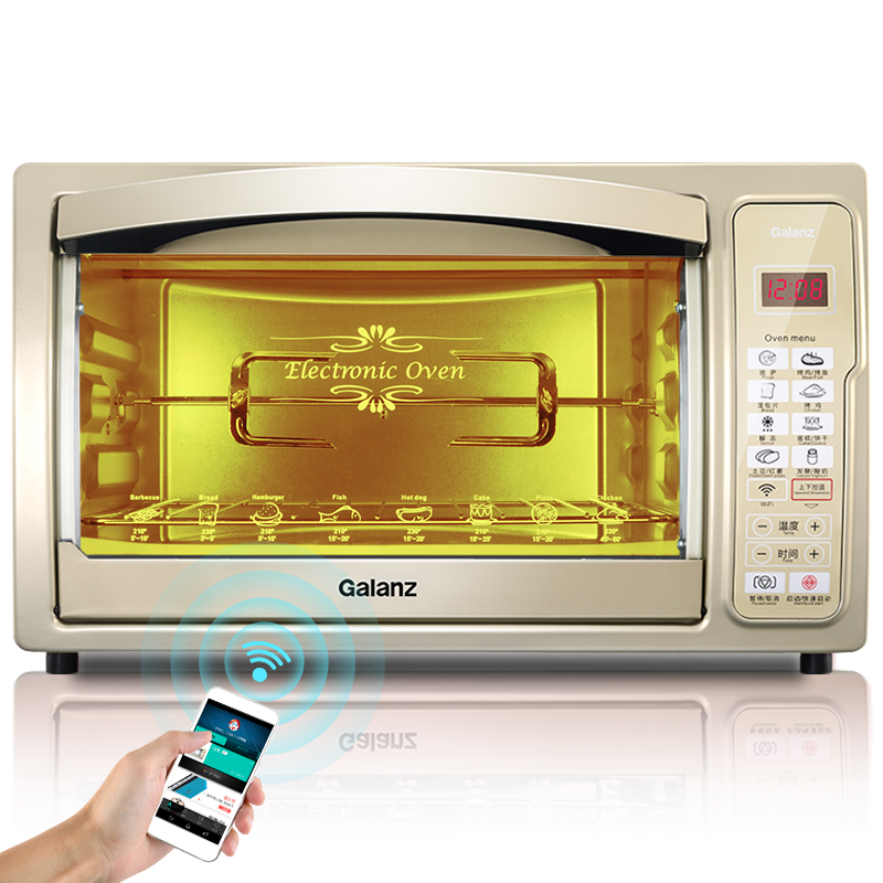 Home Baking Oven Smart Electric Stove Multifunction 30 Liters Capacity Kitchen Appliances Luxury Cooking Tools web page