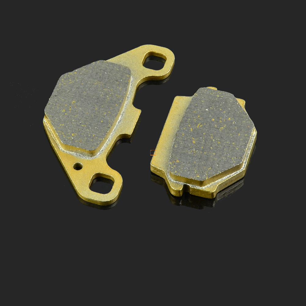 Motorcycle Rear Caliper Brake Pad For ALFER AR250 APACHE F100 ZX100 170 250 CHEETAH RLX320 450 APRILIA RX125 SXC125 GAGIVA