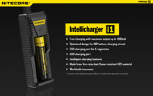 Здесь можно купить  100% Original Nitecore I1 Charger Fast Charger Quick Charger With Usb Charger For Phone For EGO Battery For IMR Li-ion Battery