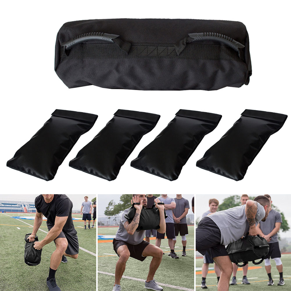 Training-Weight-Bag Sandbag Workout-Accessories Fitness Outdoor Exercise Heavy-Duty