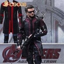 Express! CGCOS Anime Cosplay Costume Anime Avengers Age of Ultron 2 II Superhero Clint Barton Hawkeye Uniform Game Cos