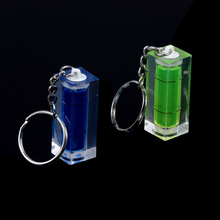 Liquid-Level-Indicator Bubble-Level Inclinometer Mini High-Accuracy with Keychain DIY