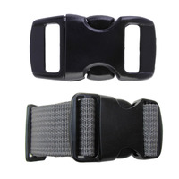 100 Pcs Pack 3 8Inch Strong Buckles 28x18mm Buckles Contoured Curved Side Release Buckles For Paracord