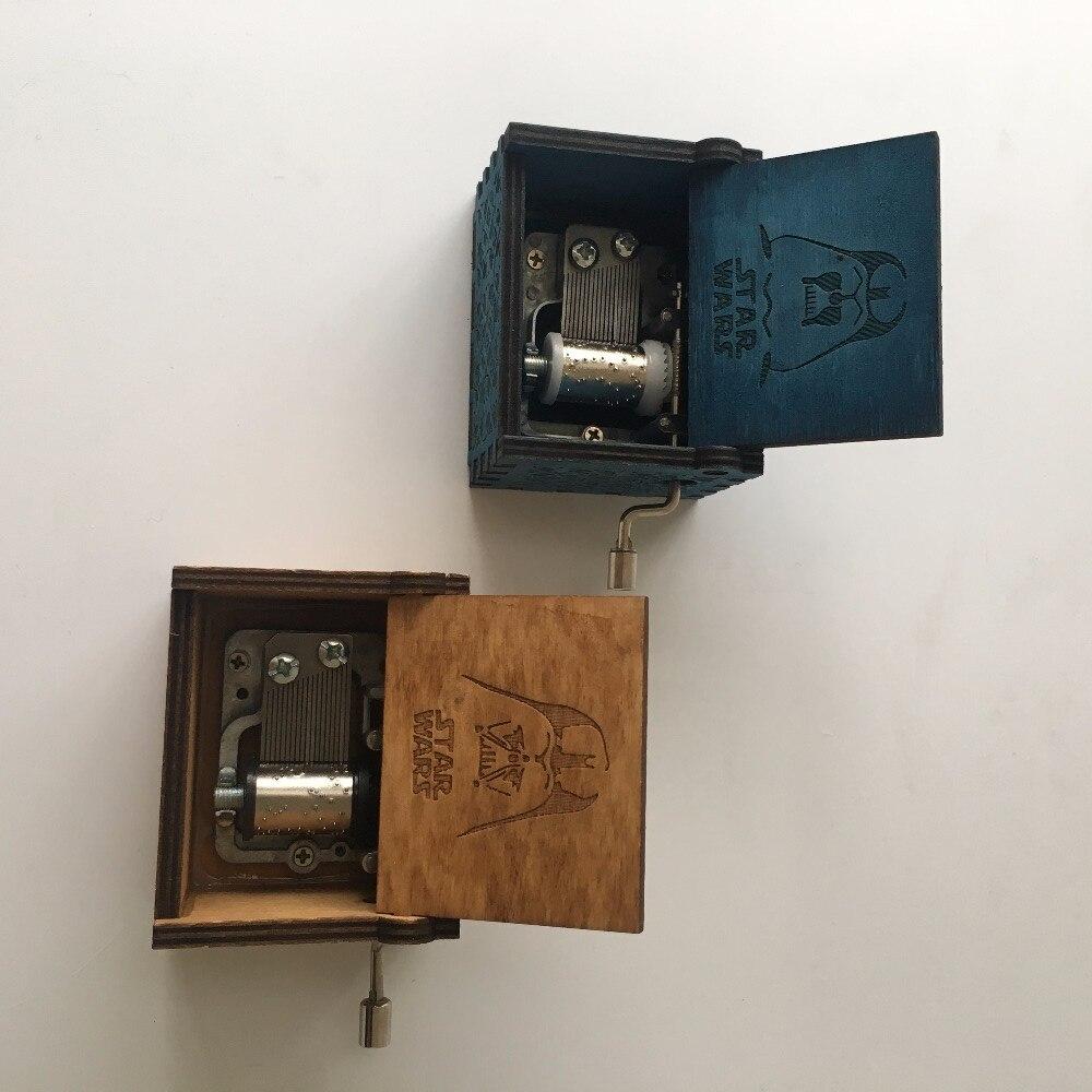 Star Wars Beauty and the beast Wooden Music Box gift for Christmas happ birthday new year gift children gift