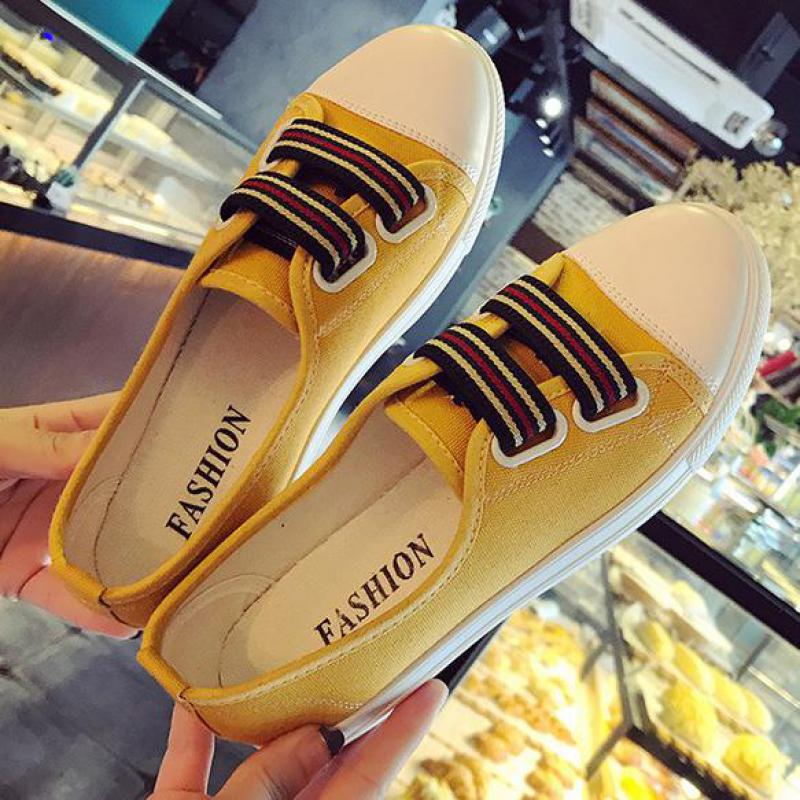 Summer Shallow Mouth Woman Casual Flats Comfortable Loafers Slip On Women Flat Canvas Shoes Female Flats 2018 Fashion Lazy Shoes summer sneakers fashion shoes woman flats casual mesh flat shoes designer female loafers shoes for women zapatillas mujer