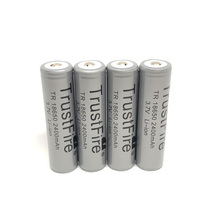 4PCS/LOT TrustFire TR 18650 3.7V 2400mAh Camera Torch Flashlight Li-ion Protected Battery 18650 Rechargeable Batteries with PCB trustfire protected 18650 3 7v 3000mah rechargeable li ion batteries pair