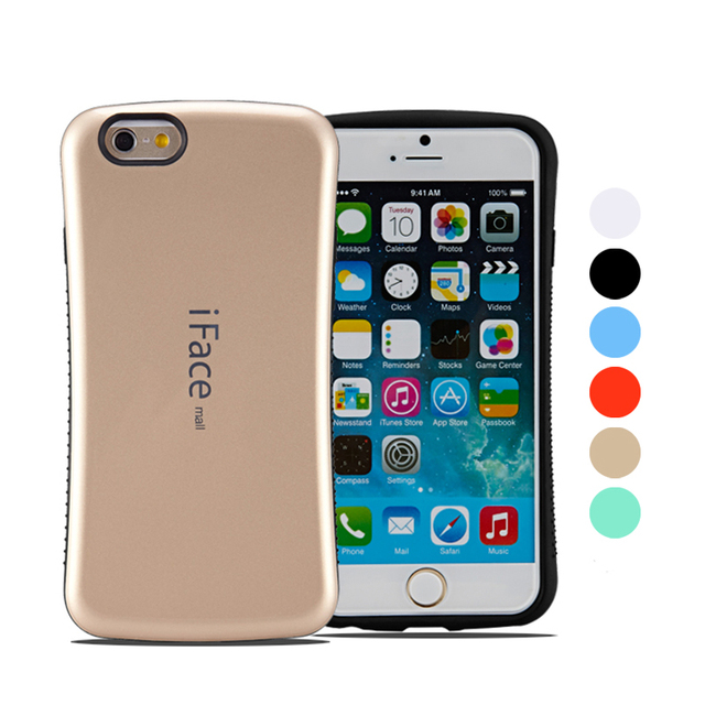 hot sale online 29a6c b073f US $4.75 |iFace Mall Heavy Duty Case for iPhone 8/8 Plus/7/7 Plus/6S/6S  Plus/6/6 Plus Shockproof Back Cover Hard Shell Full Protection-in  Half-wrapped ...