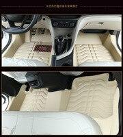Myfmat custom foot car floor mats leather rugs mat for JAC K5/3 iev b15 A13 RS refine s3 s2 s5 Refine RS free shipping comfort