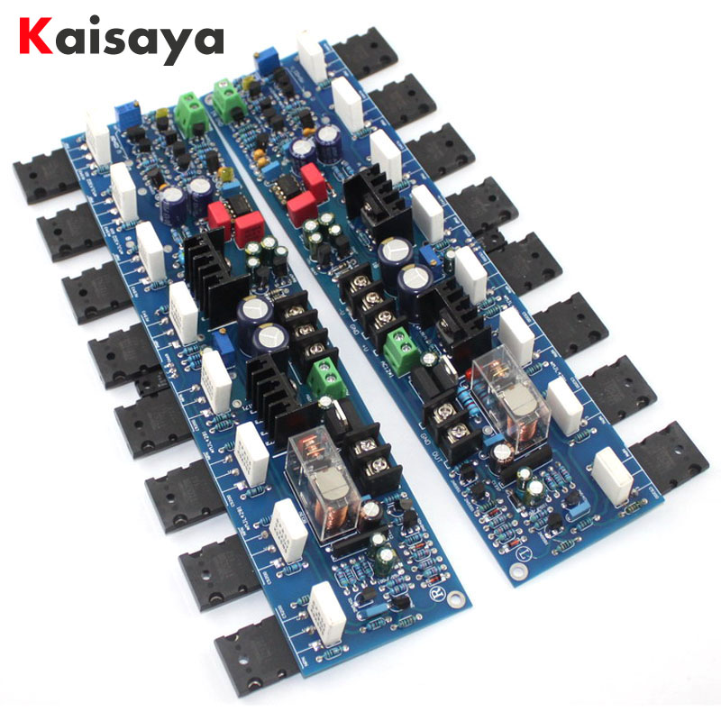 1 pair 300W E405 Amplifier Board A1943 C5200 2SA1930 2SC5171 Reference Accuphase Power AMP Circuit Module