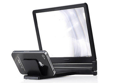 Hot 3D Enlarged Screen Mobile Phone Amplifier Magnifier Bracket Cellphone Holder title=
