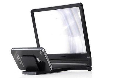 Hot 3D Vergroot Screen Mobiele Telefoon Versterker Vergrootglas Bracket Gsm Houder