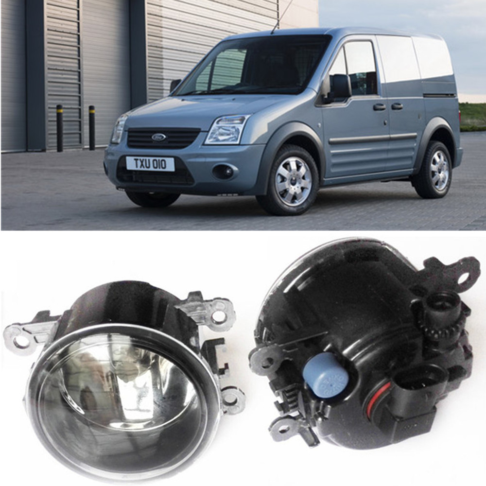 For FORD TRANSIT Connect Box P65_ P70_ P80_  2002-2013  Car styling Fog Lamps halogen Fog lights 1SET for lexus rx gyl1 ggl15 agl10 450h awd 350 awd 2008 2013 car styling led fog lights high brightness fog lamps 1set
