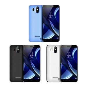 Image 3 - Original HOMTOM S16 Fingerprint Mobile Phone Android 7.0 5.5inch Screen 2G RAM 16G ROM 13MP MTK6580 Quad Core 3000mAh Smartphone