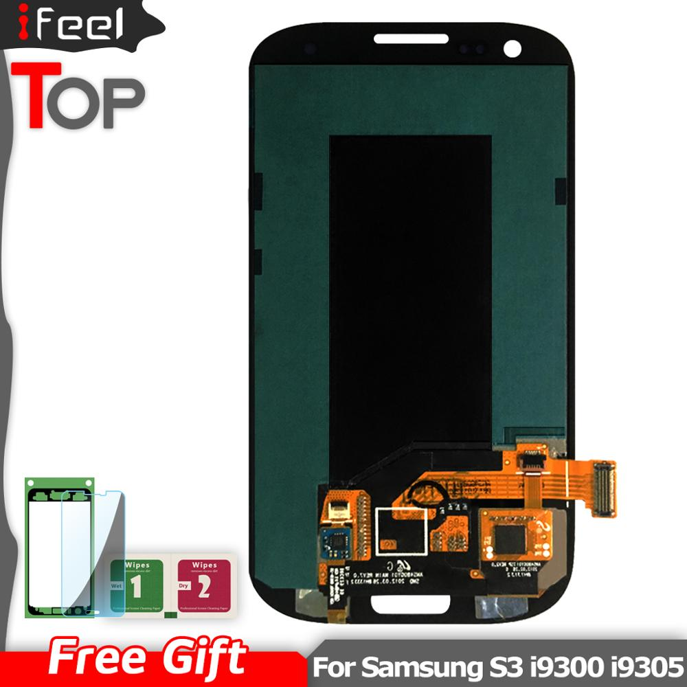 For SAMSUNG Galaxy S3 i9300 i9300i i9301 i9308i i9301i LCD Display + Touch Screen Digitizer Assembly with FrameFor SAMSUNG Galaxy S3 i9300 i9300i i9301 i9308i i9301i LCD Display + Touch Screen Digitizer Assembly with Frame