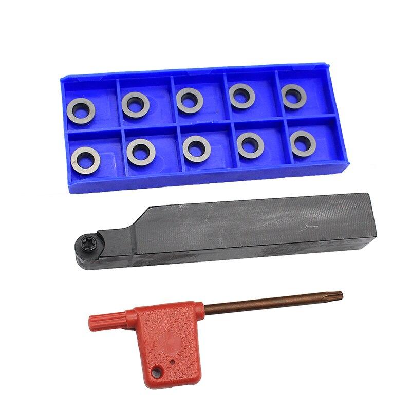 RPMW1003MO MP1030 10PCS+1PCS SRAPR1616H10 Carbide Insert For CNC Lathe Turnning Cutter Holder Turning Tools Holder