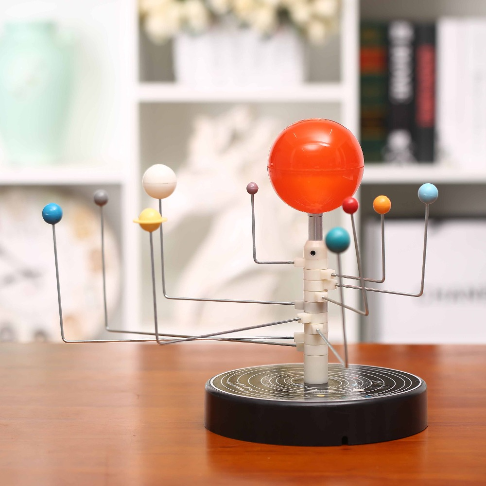 Planétarium étudiant ensemble de huit planètes Globes soleil terre modèle enseigner éducation géographie carte populaire science astronomie démo