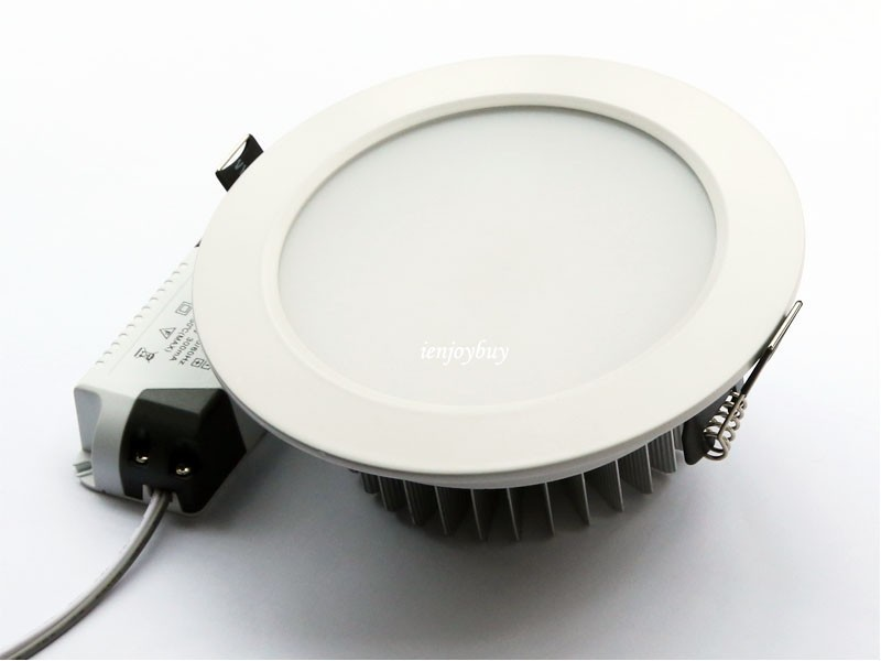 Recessed Led Downlight 12w 15w 18w Light Fixtures Spot Ceiling Lamp For Bathroom Ac 110v 220v Warm Cool White In Downlights From Lights