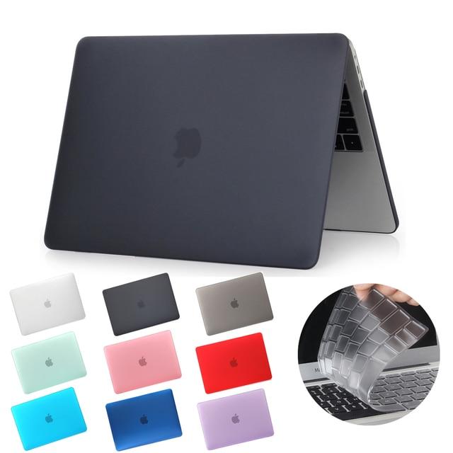 2019 Новый чехол для ноутбука Apple MacBook Air Pro retina 11 12 13 15 для mac book Pro 13,3 15,4 дюймов с сенсорной панелью + клавиатурой