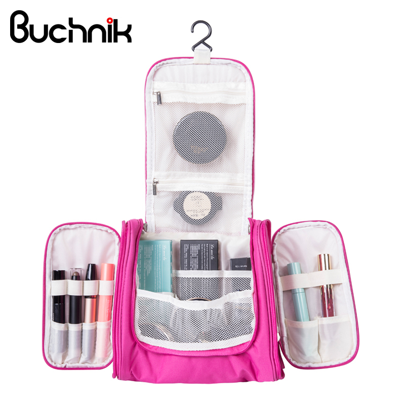 Hanging Travel Cosmetic Bags Functional Makeup Pouch Toiletry Wash Storage Case  Organizer Necessary Accessories Supplies dddd84aec37a2