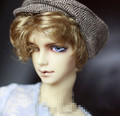 Handsome Woolen Beret  Peaked Hat For BJD 1/6 YOSD, 1/3 SD17,Uncle Doll Hat CP9