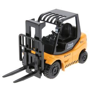 Image 5 - מיני הנדסת כלי רכב למשוך בחזרה צעצוע חופר מחילה משאית Dump משאית מנוף טעינה מנוף כביש רולר קיד של צעצועים
