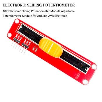 1PCS 10K Electronic Sliding Potentiometer Module Adjustable Potentiometer Module for Arduino Instrument Parts & Accessories