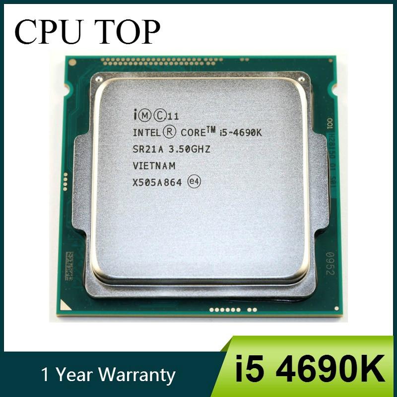 Intel Core i5 4690K 3 5GHz 6MB Socket LGA 1150 Quad Core CPU Processor I5 4690K