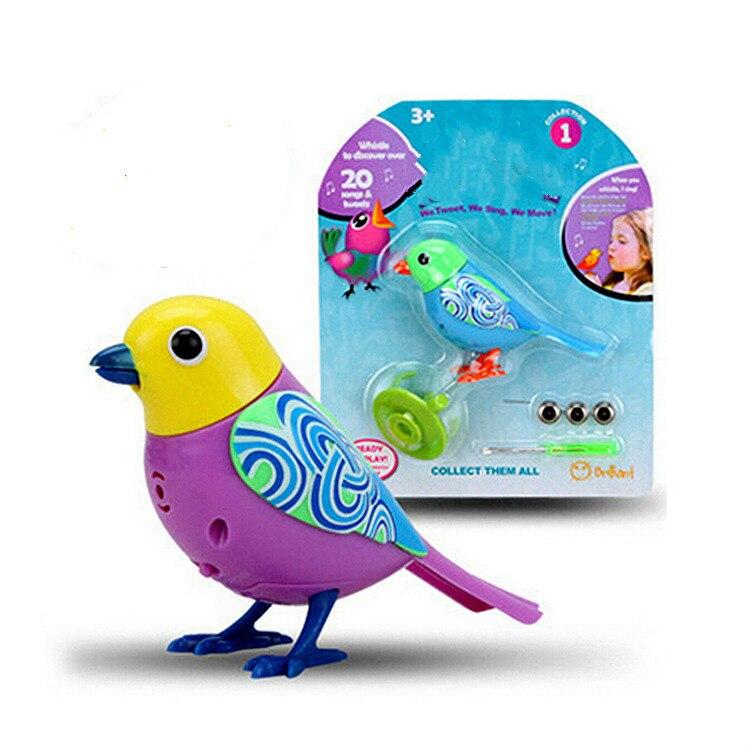 Bird Talking Toy : Electric bird talking parrot birds intelligent pets sound
