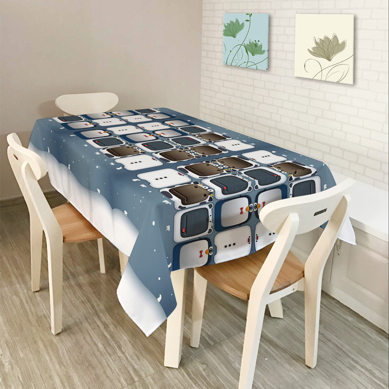 New Home decor Table Cloth Dining Tablecloth Coffee Restaurant Table - Home Textile - Photo 5