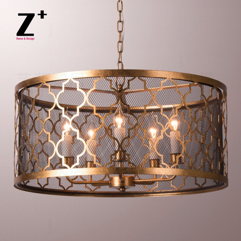 quatrefoil chandelier 5 x e14 lights d66cm classical regina andrew vintage antique replica lamp free shipping