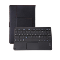 Flip Removable Bluetooth V3 0 Keyboard Protective Leather Case Universal Wireless Keyboard For 8 8 9