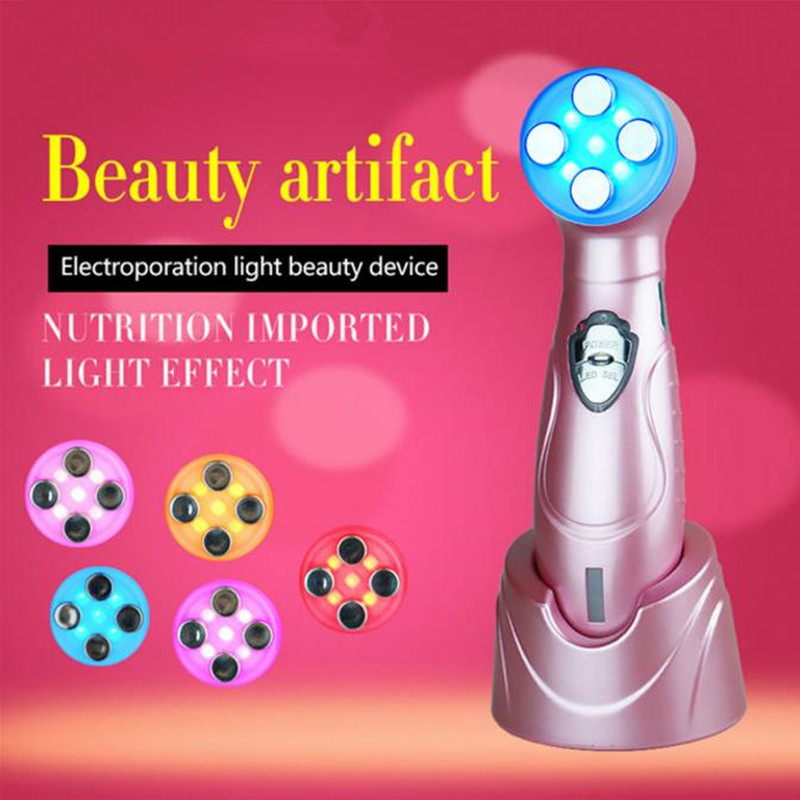Facial Care Machine EMS Electroporation Skin Rejuvenation Beauty Device Face Massager Ultrasonic RF No Needle Mesotherapy Tighte