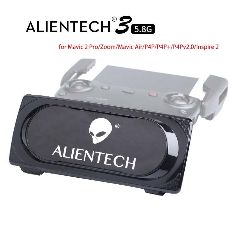 ALENTECH 3 Martien Pro 5.8g Antenne Signal Booster Range Extender pour DJI Mavic 2 Pro Zoom Air Phantom 4 pro 2.0 Spark Inspirer 2