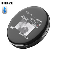 RUIZU M1 Sport Bluetooth MP3 Player Mini Portable Audio Music Player 8GB with Built in Speaker Support FM,Recording,E Book,Clock